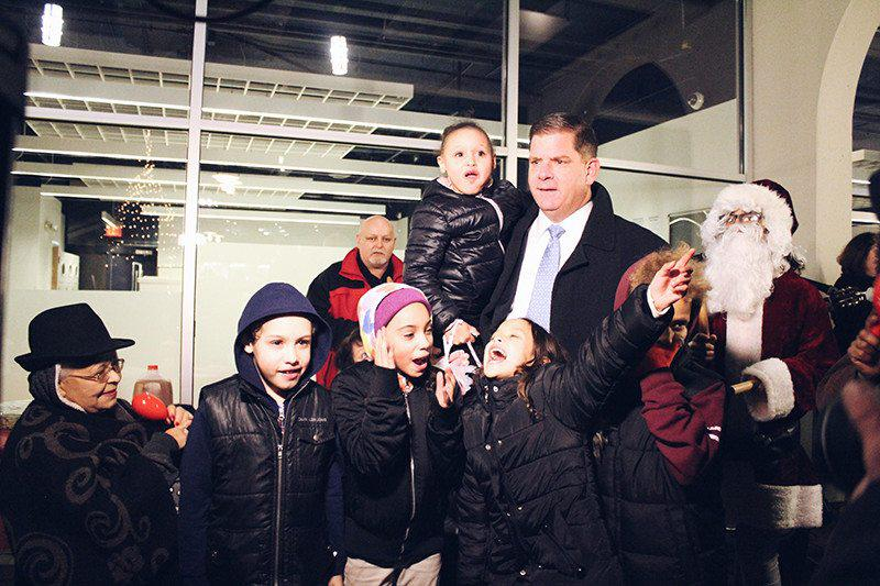 Happy Holidays: Mayor Walsh Attends Beloved Tradition