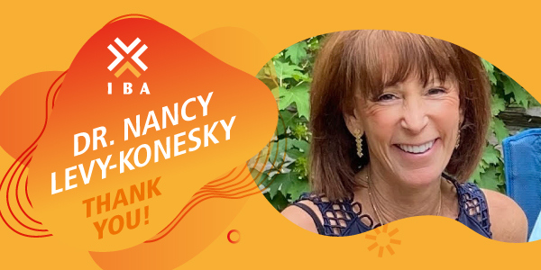 Dr. Nancy Levy-Konesky, a friend of IBA's community