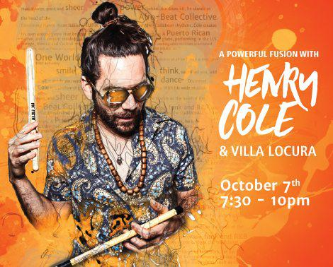 Language into a Beat: An Interview with Henry Cole