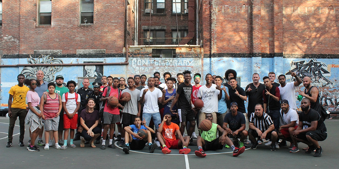 One Hood vs. BPD: Playing For Community