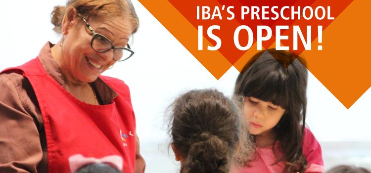 IBA's Preschool is Open!