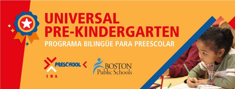 UNA INICIATIVA DE EDUCACIÓN PREESCOLAR GRATUITA EN BOSTON