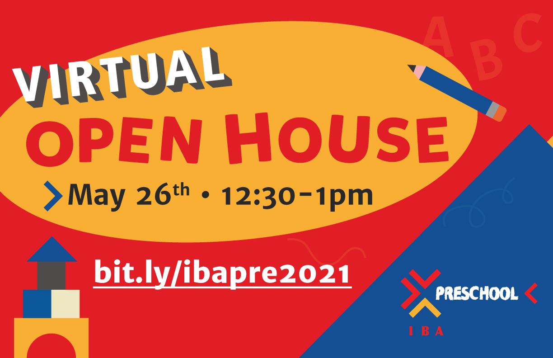 IBA's Preschool Virtual Open House