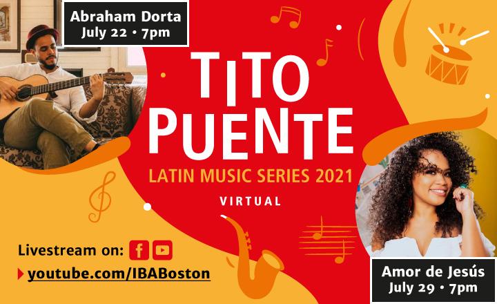 Tito Puente Latin Music Series 2021: Virtual!